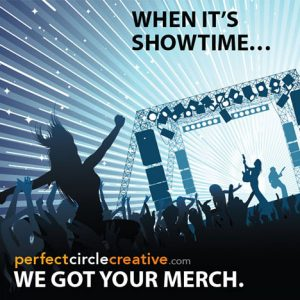 Perfect Circle Creative Merchandise Promo