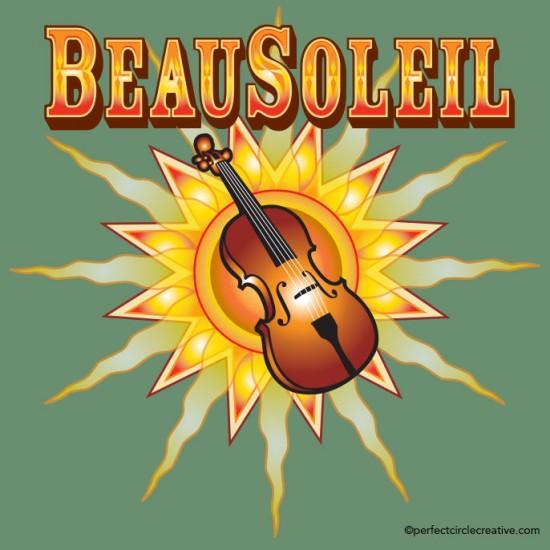 Beau Soleil logo design.