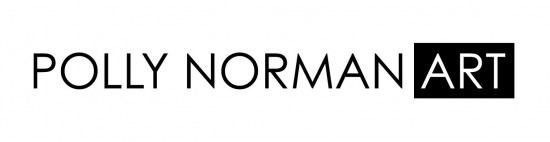 Polly Norman Art logo design.