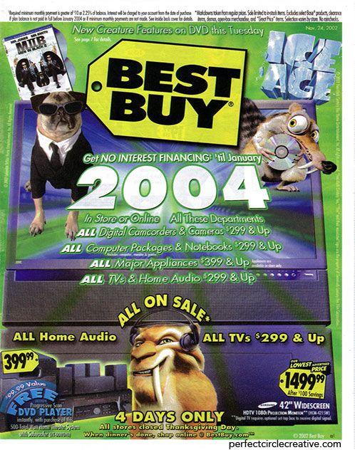 Best Buy Sunday Circular Cover