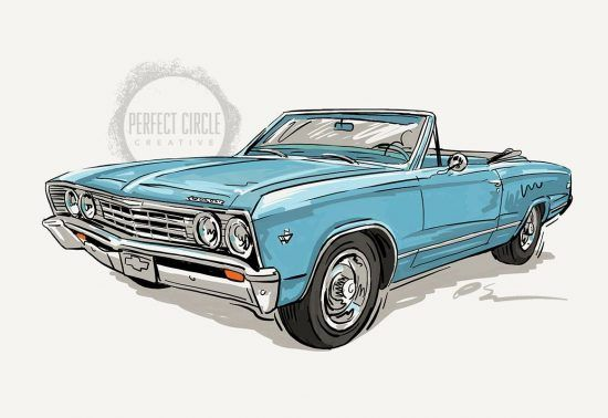 Newly commissioned 1967 Chevelle.