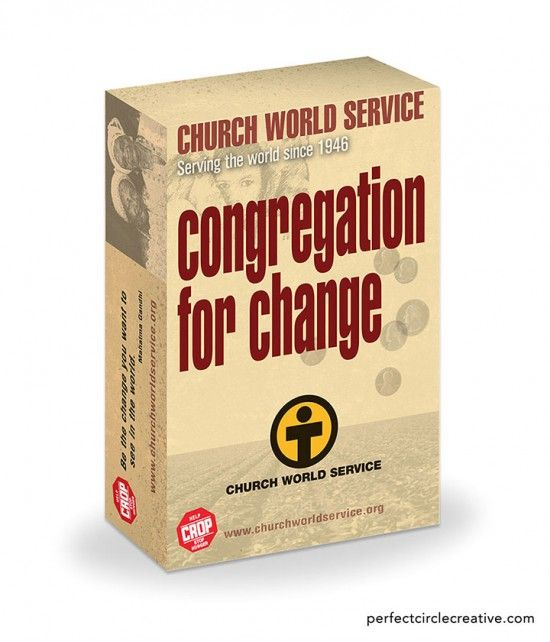 Package design for Church World Service.